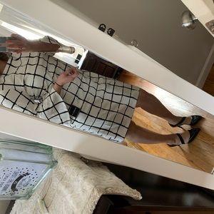 Liz Claiborne checkered dress
